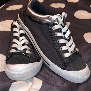 COACH Sneakers; Worn once.